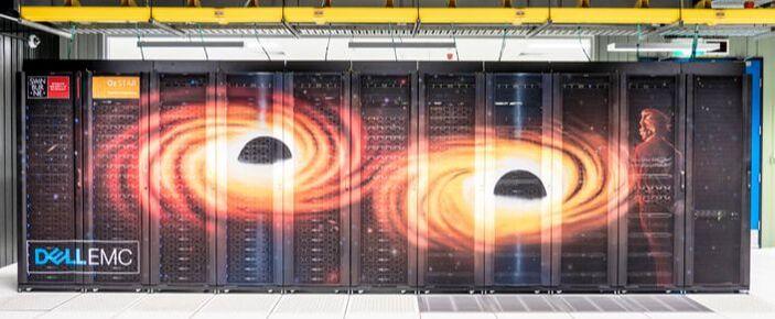 OzSTAR supercomputer, located at Swinburne University of Technology.