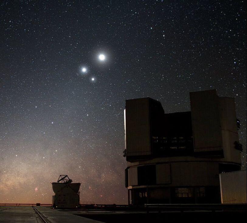 ESO's Very Large Telescope (VLT)